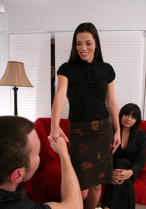 Lustful asian MILF Annie Cruz fucking hard cock with her wet pussy