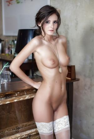 Nude european woman